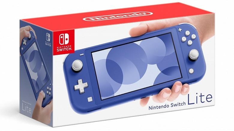 Ждали Nintendo Switch нового поколения? Вместо неё Nintendo представила Nintendo Switch Lite в новом, более тёмном, синем цвете