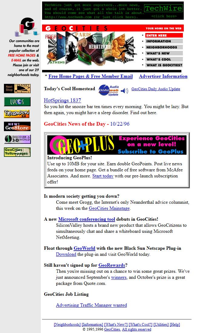 Веб на заре Рунета. Как создавали и где хостили сайты в 90-е - 7