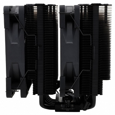 Процессорная система охлаждения Thermalright Peerless Assassin 120 Black укомплектована двумя вентиляторами