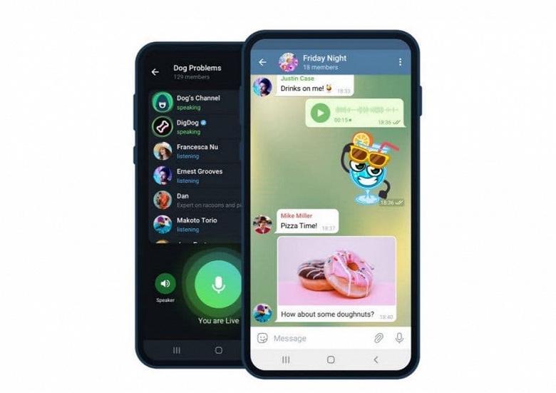 Выпущена официальная версия Telegram под Android без ограничений на пиратский контент