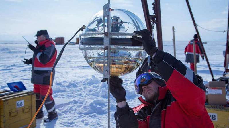 Нейтринная обсерватория на дне Байкала - 5