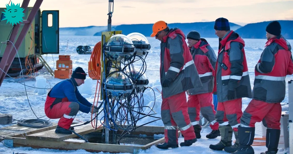 Нейтринная обсерватория на дне Байкала - 1