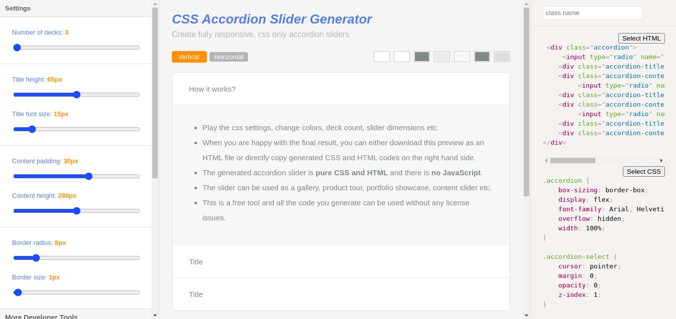 Какие CSS-генераторы можно использовать в 2021 году - 8