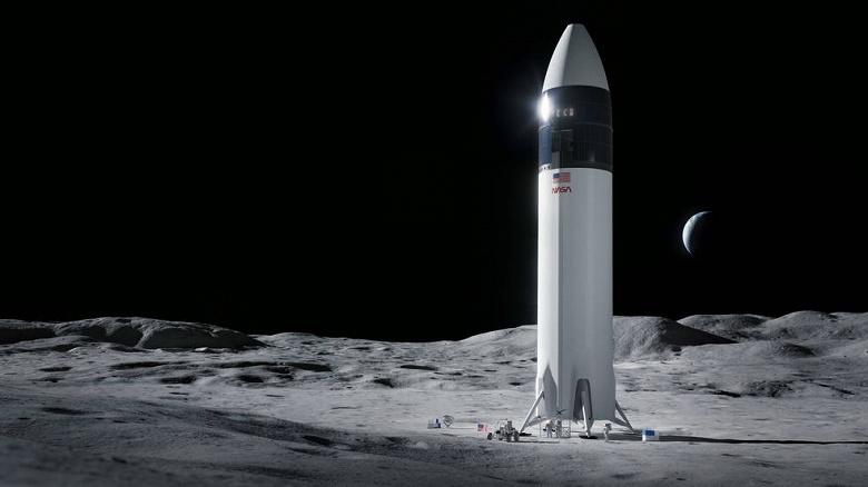Компания Илона Маска будет доставлять астронавтов на Луну
