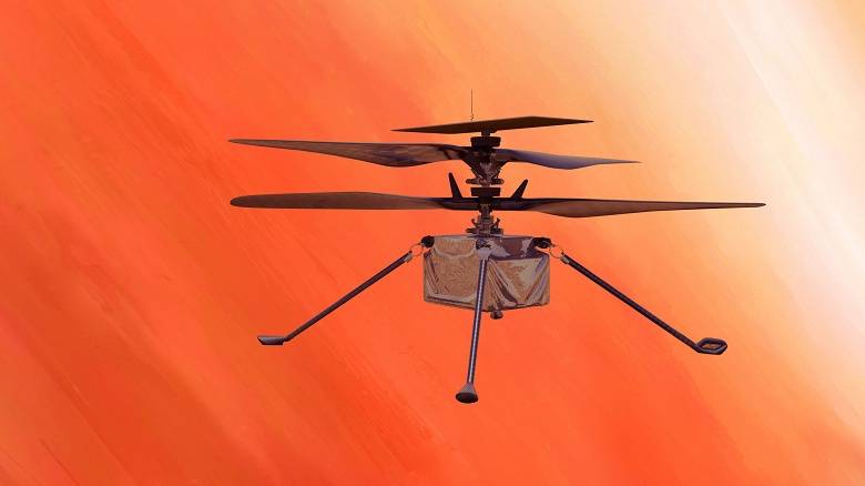 Исторический рубеж: первый полёт вертолёта Ingenuity на Марсе прошёл успешно