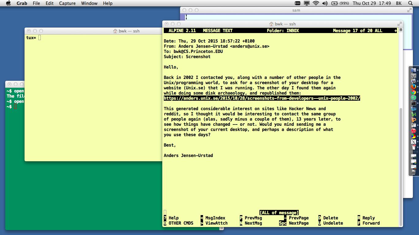 Почему работать в консоли настолько приятно? Так задумано отцами-основателями Unix - 5
