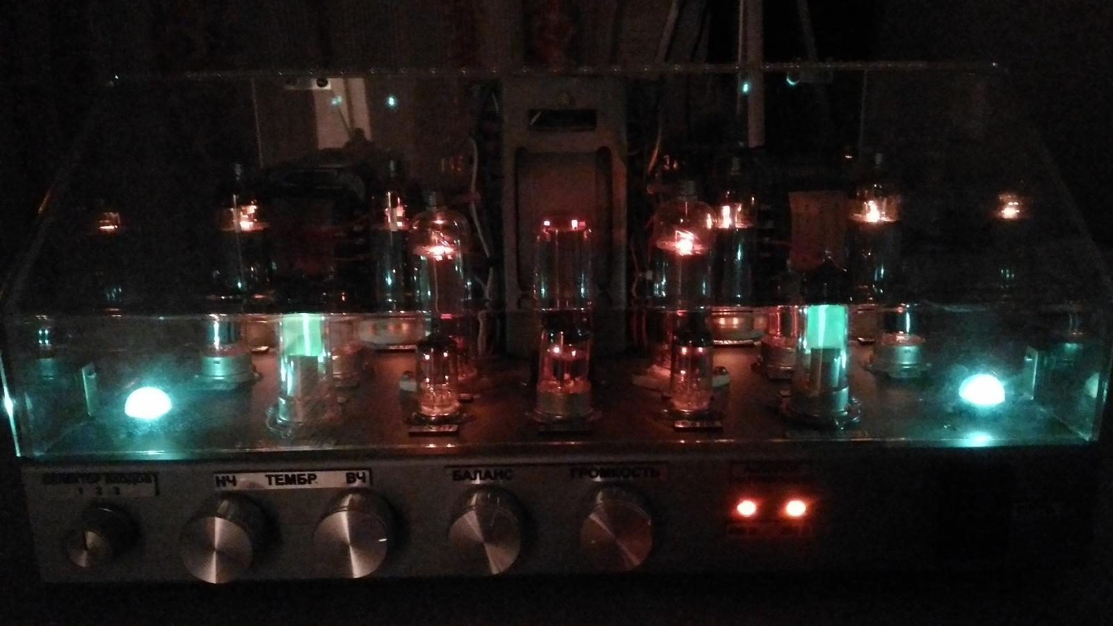 Самодельный ламповый стереофонический усилитель из доступных деталей - 10