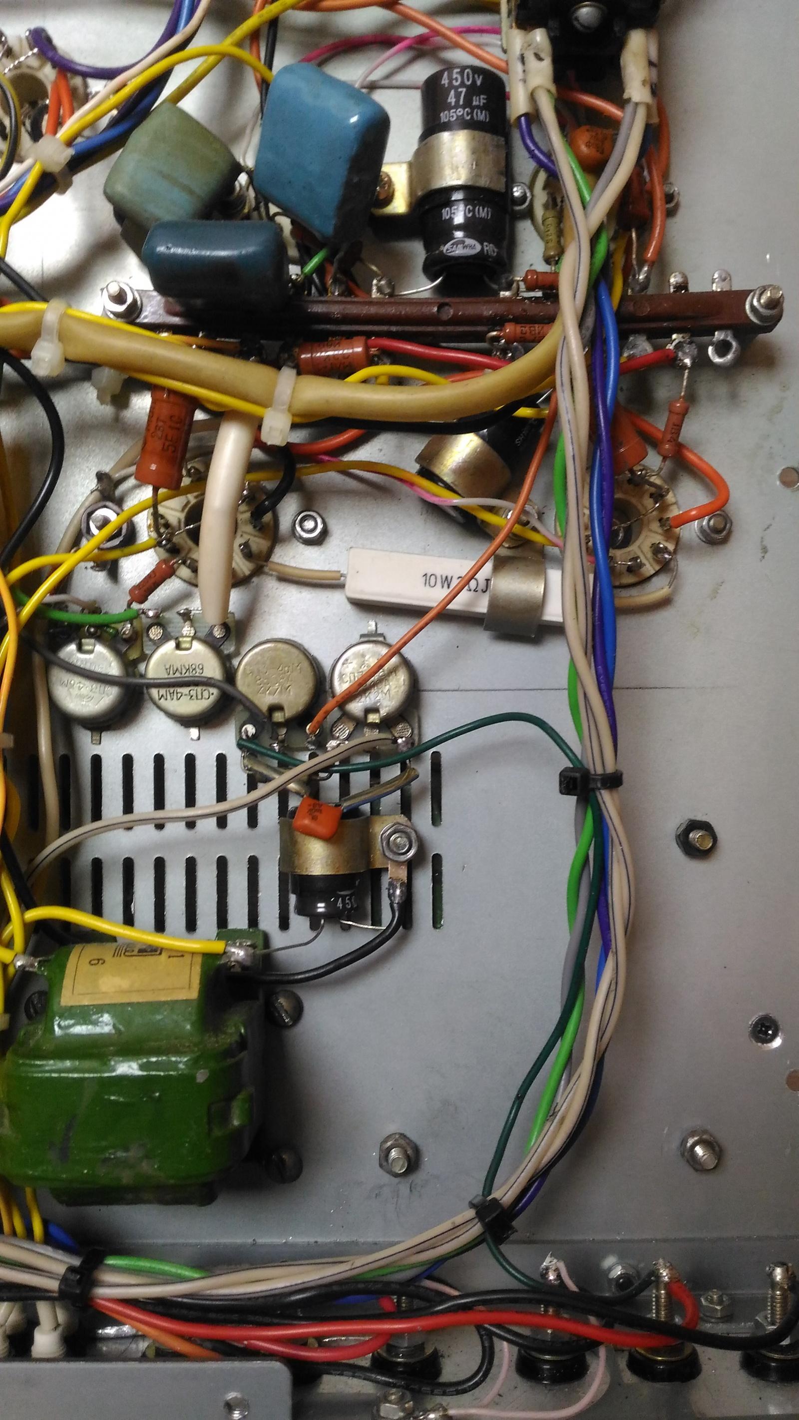 Самодельный ламповый стереофонический усилитель из доступных деталей - 18