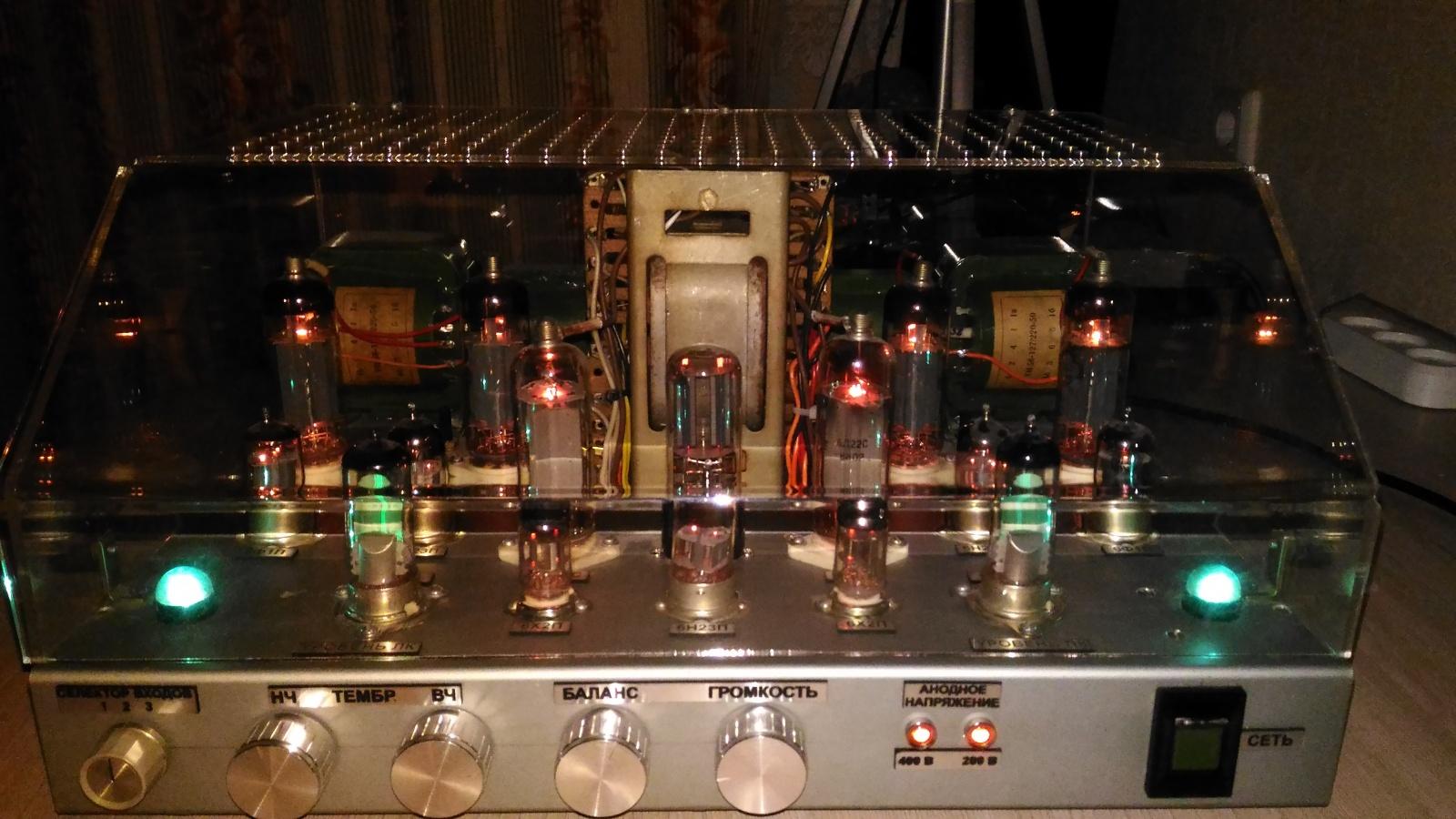Самодельный ламповый стереофонический усилитель из доступных деталей - 2