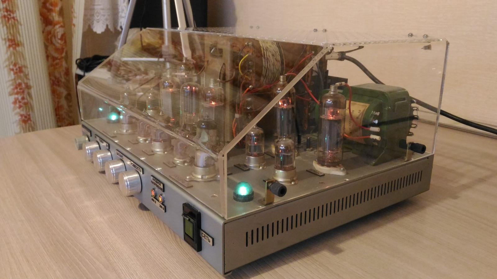 Самодельный ламповый стереофонический усилитель из доступных деталей - 5