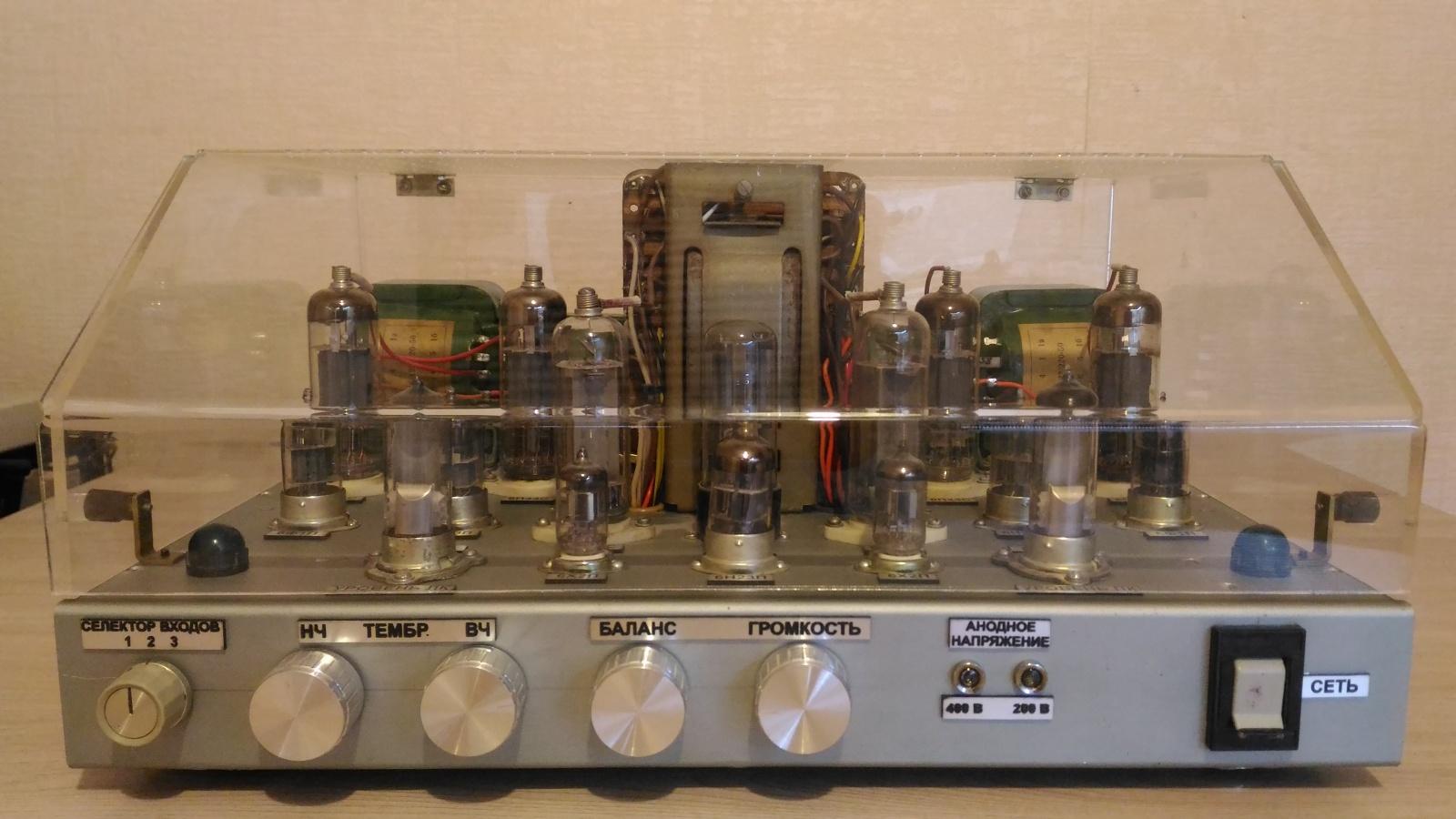 Самодельный ламповый стереофонический усилитель из доступных деталей - 1