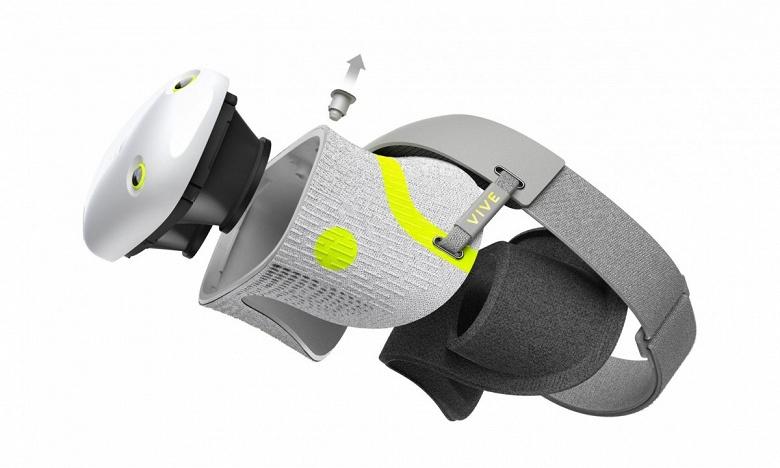HTC показала новую гарнитуру виртуальной реальности, предназначенную для фитнеса