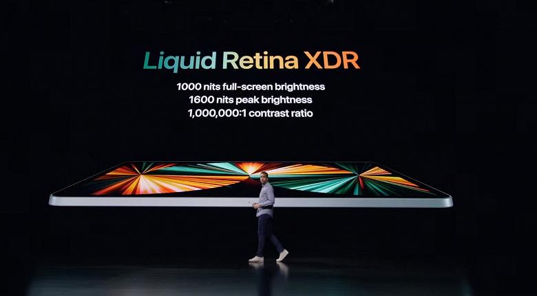 Представлен первый Apple iPad Pro на базе Apple M1. Два размера, экран Liquid Retina XDR, 16 ГБ ОЗУ и до 2 ТБ флеш-памяти