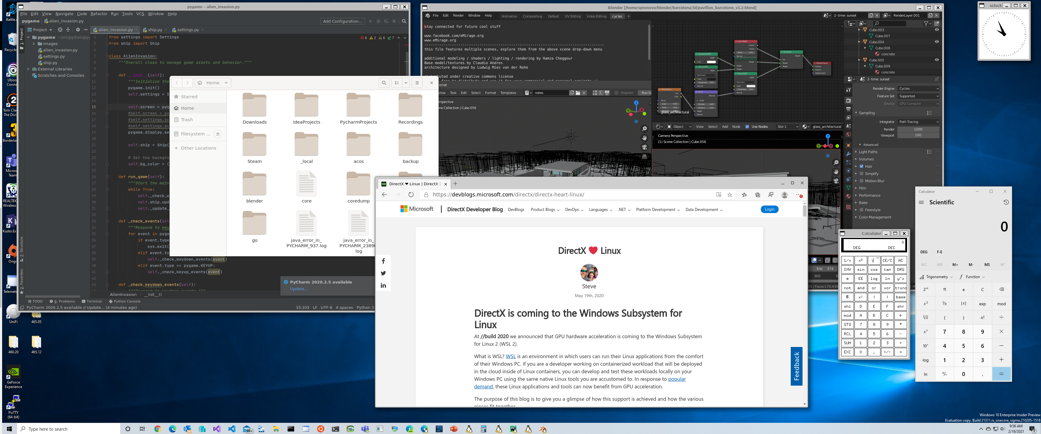 Microsoft начал тестирование поддержки запуска GUI-приложений Linux в Windows - 1