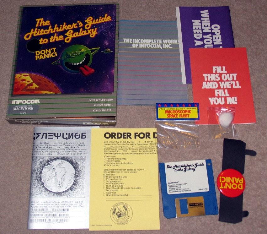 «Автостопом по галактике» — история невероятного текстового приключения 1984 года - 1