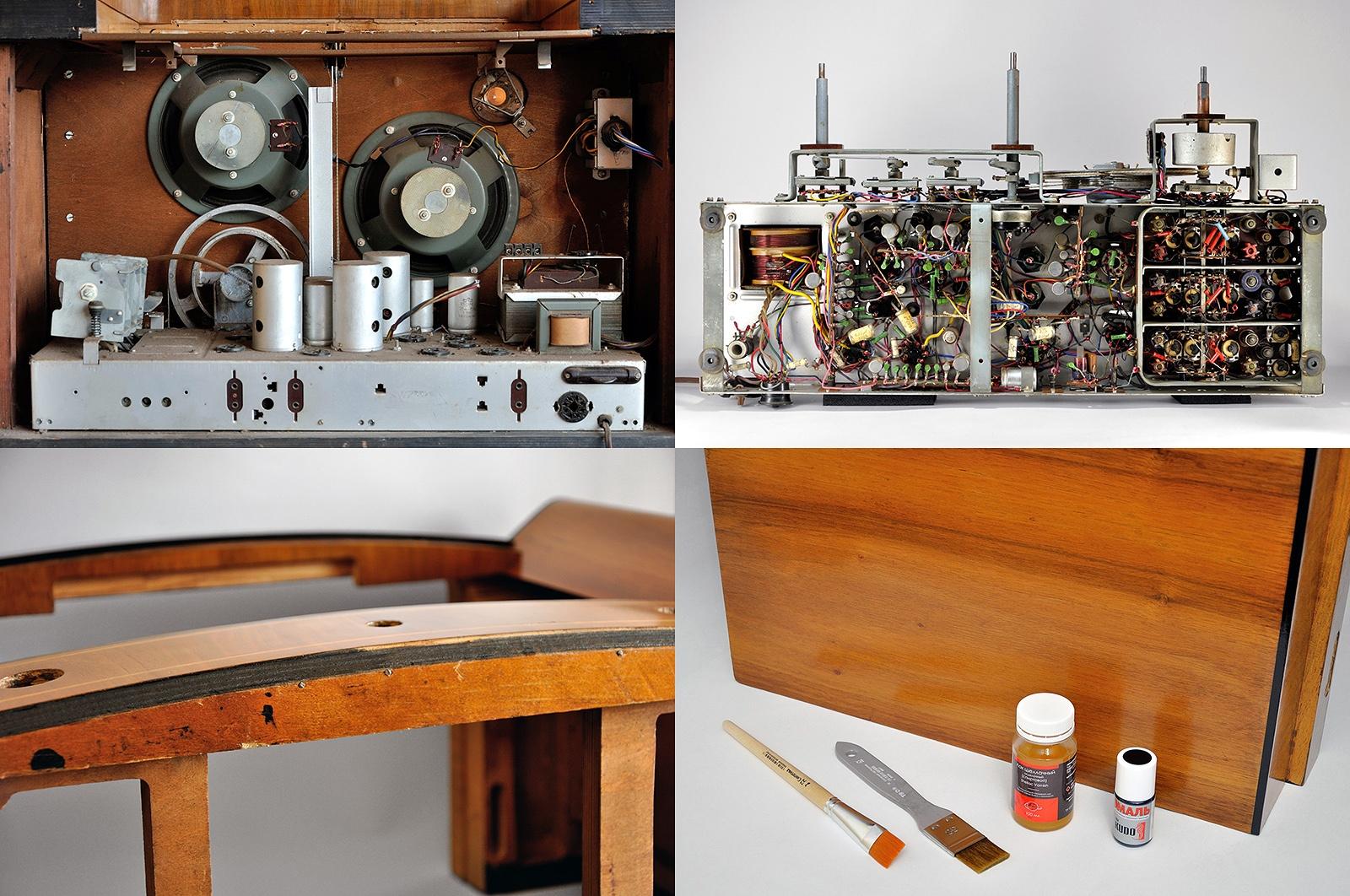 О дивный новый «Мир»! Восстановление советской радиолы - 1
