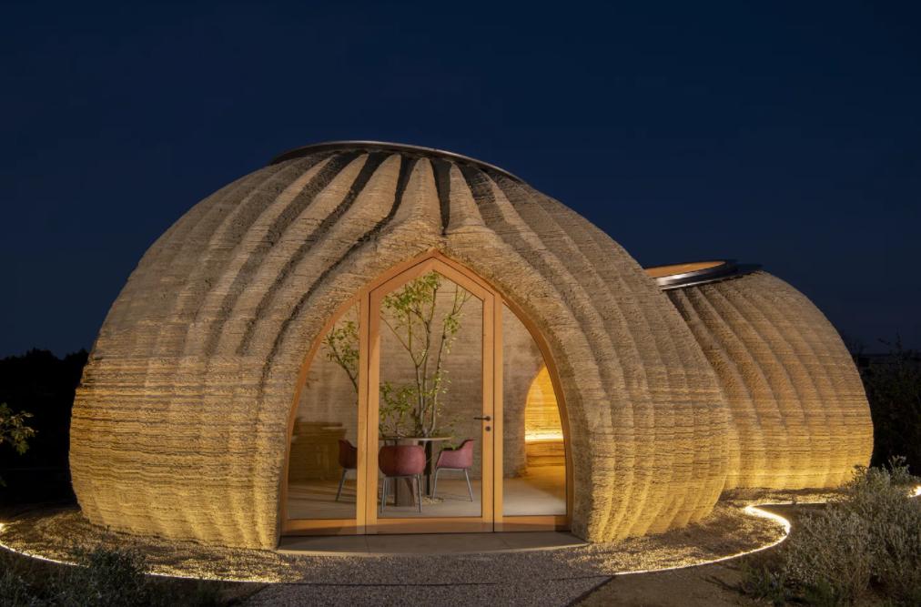 Первый глиняный дом, напечатанный на 3D принтере - 1