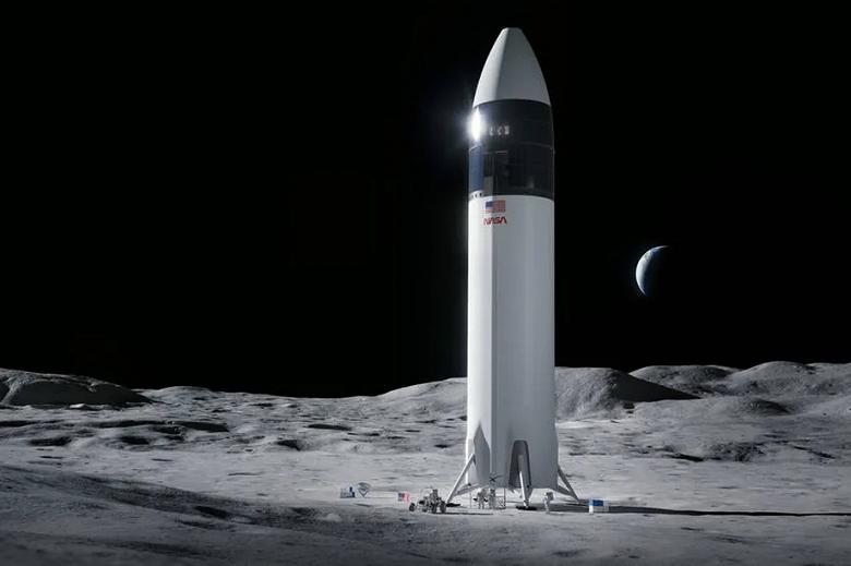 NASA остановило контракт со SpaceX по отправке астронавтов на Луну