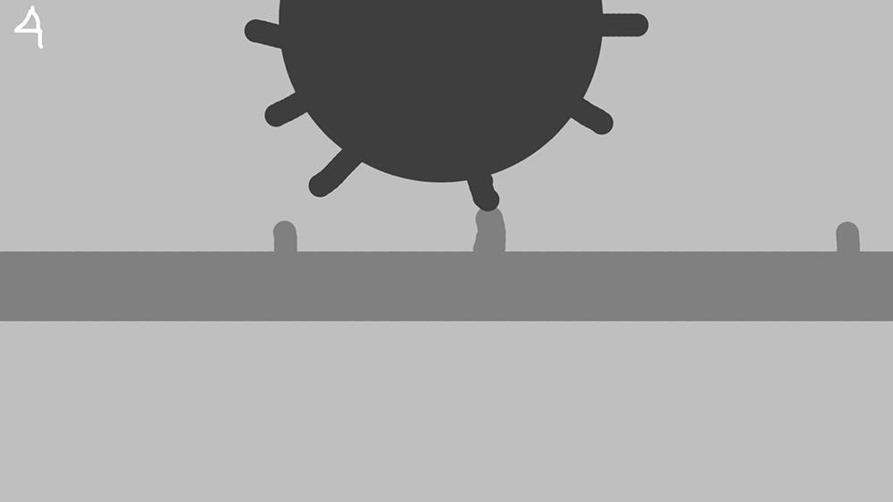 Сториборд. Вирус прикрепляется к клеточному рецептору АСЕ2.