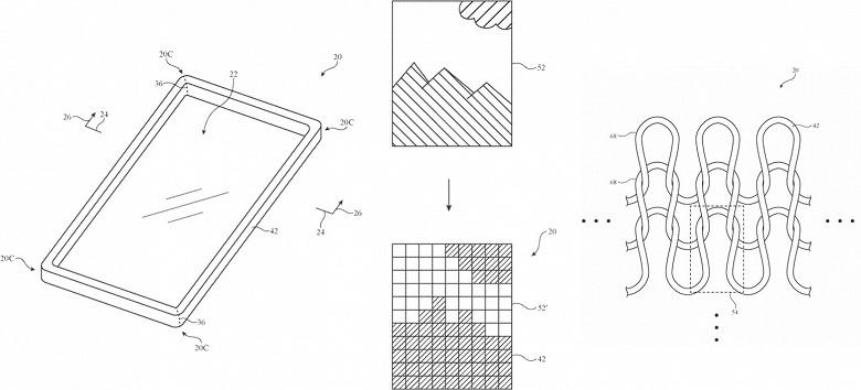 Apple выдали патент на чехлы для электронных устройств из ткани, изготавливаемой на заказ по изображению, предоставленному пользователем
