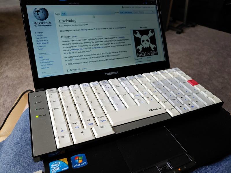 Эргономика, Дворак и небольшой размер: необычная клавиатура TypeMatrix EZ-Reach 2030 - 1
