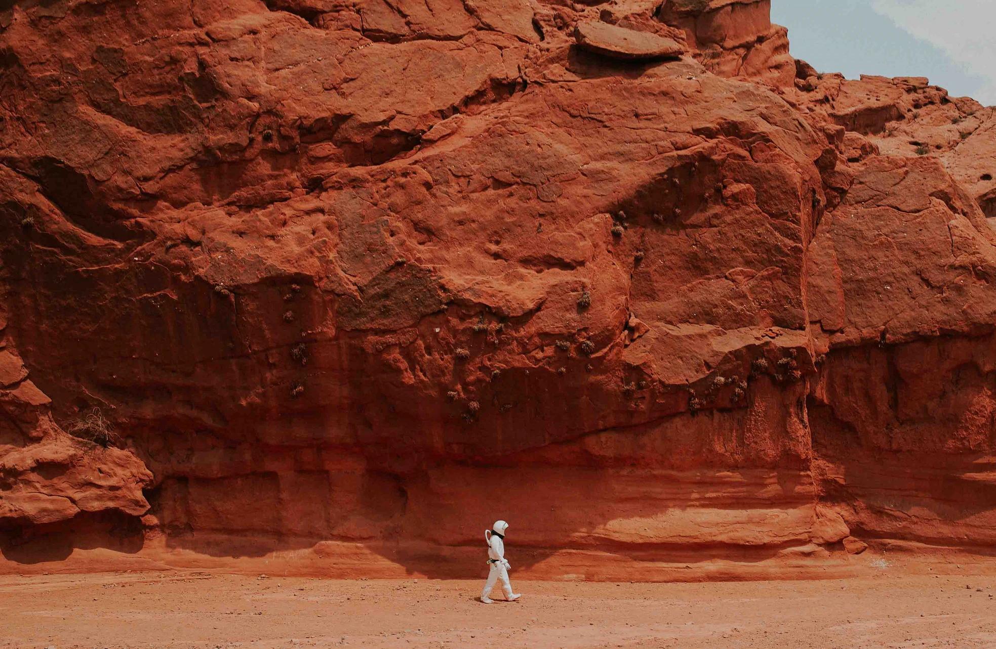 Марсианские хроники: первые снимки ночного неба и прогноз погоды из прошлого - 1