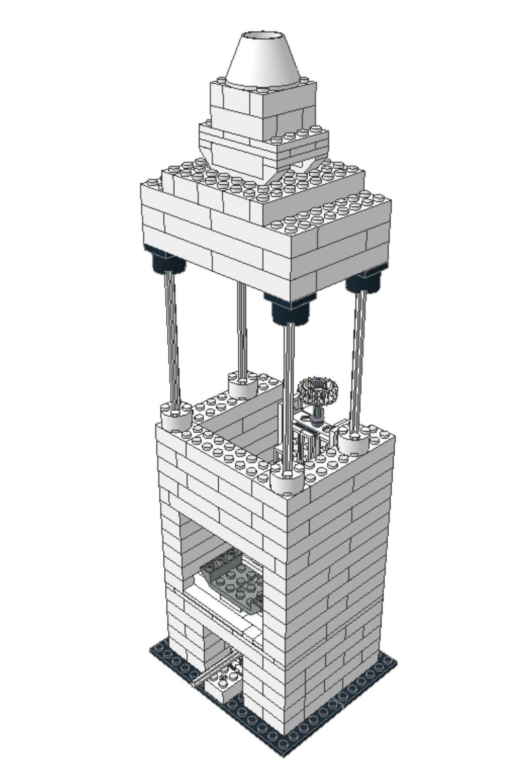 Собственный микроскоп из кубиков LEGO - 1