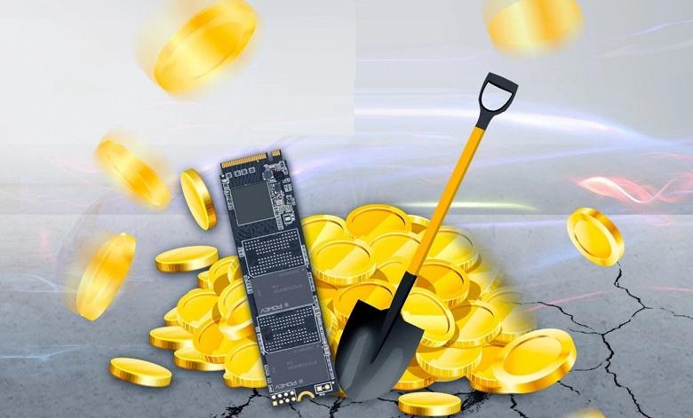 Добыча криптовалюты ChiaCoin убивает SSD объемом 512 ГБ за два месяца, SSD объемом 2 ТБ продержится не более полугода
