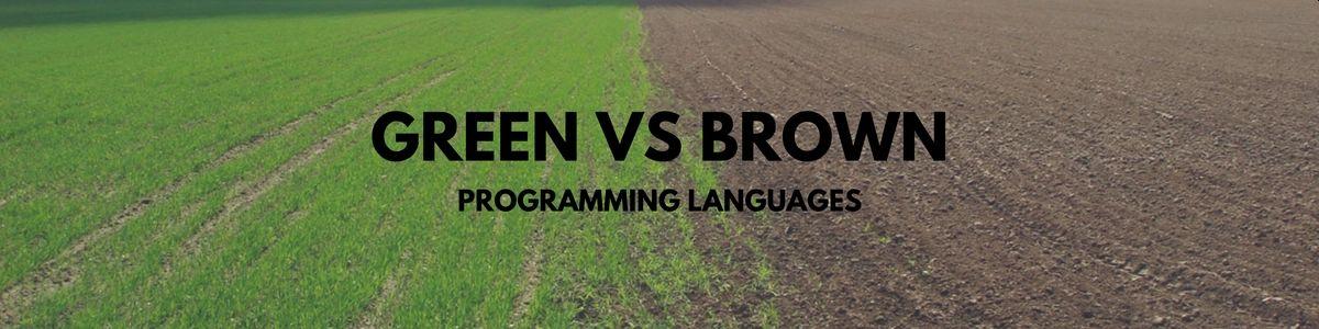 Языки любимые и языки страшные. Зелёные пастбища и коричневые поля - 1