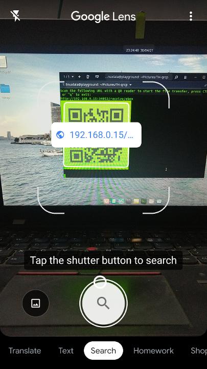 Как передавать файлы с компьютера на смартфон и обратно при помощи Qrcp и QR-кода - 6