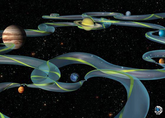 Гравицапа для межпланетных перелётов или гравитационный манёвр - 1