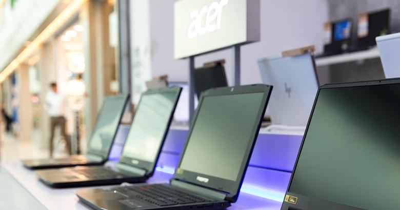 В России открылся первый розничный магазин Acer