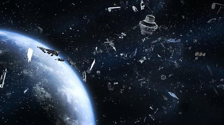 Роскосмос: вокруг Земли вращается около 7 тысяч тонн космического мусора