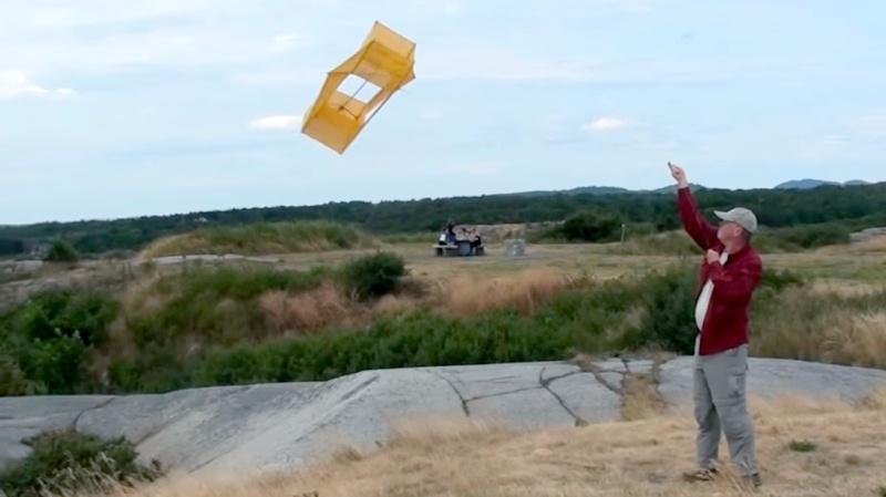 Когда не было спутниковой связи: SOS-антенны, запускаемые воздушными змеями - 1