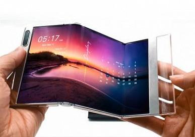 Компания Samsung Display представила на выставке SID Display week 2021 сворачиваемые и складные дисплеи OLED