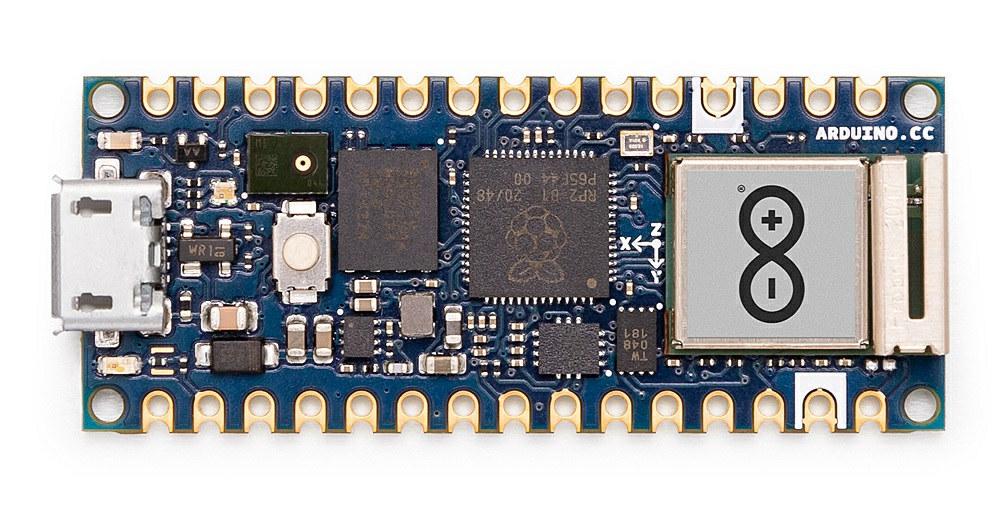 Arduino Nano RP2040 Connect: новая «ардуинка» с Wi-Fi на борту - 1