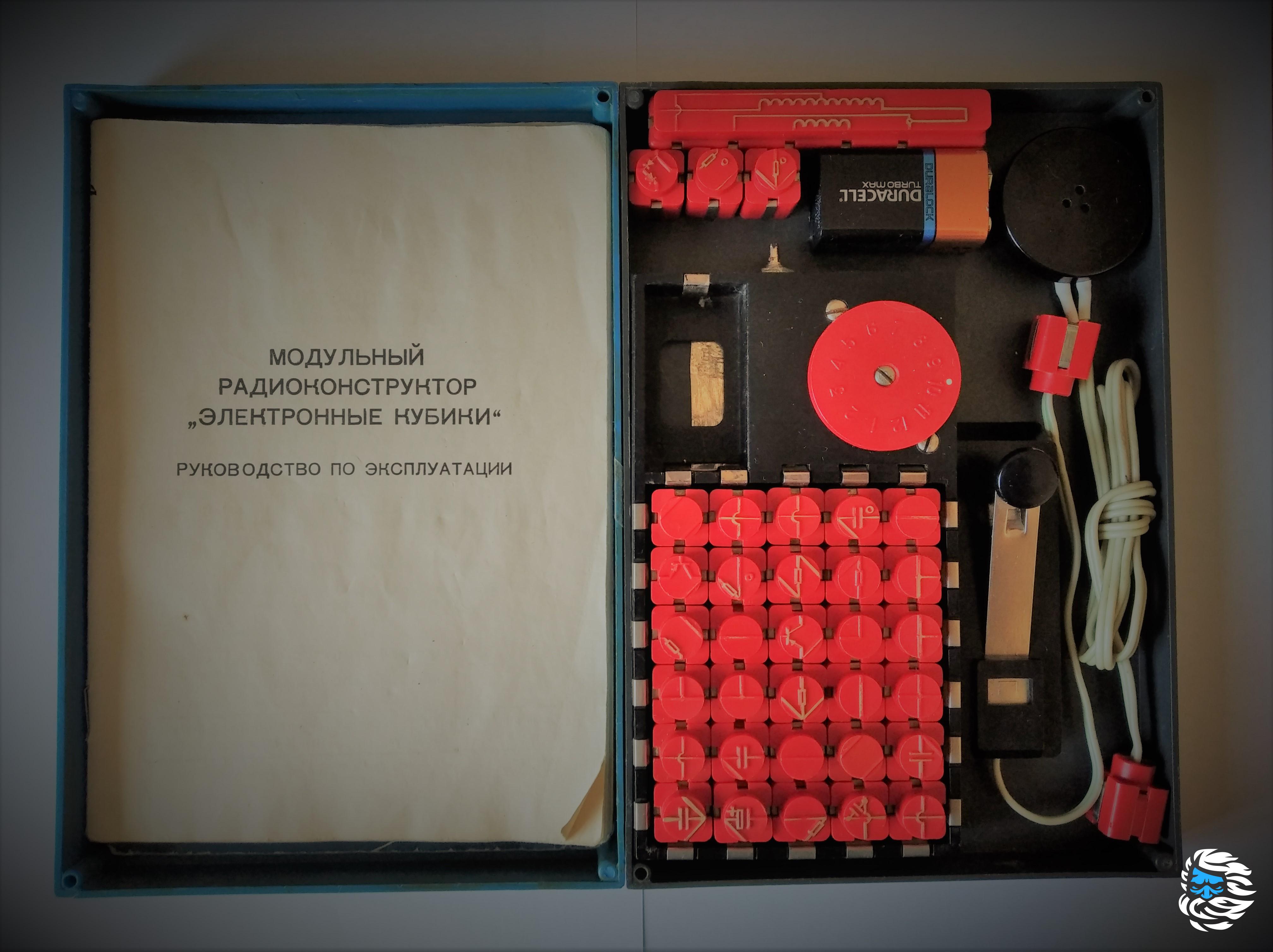 Радиоконструктор «Электронные кубики»: ностальгия по детству - 1