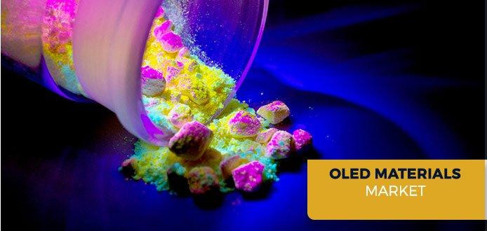Рынок материалов OLED в этом году вырастет на 17%