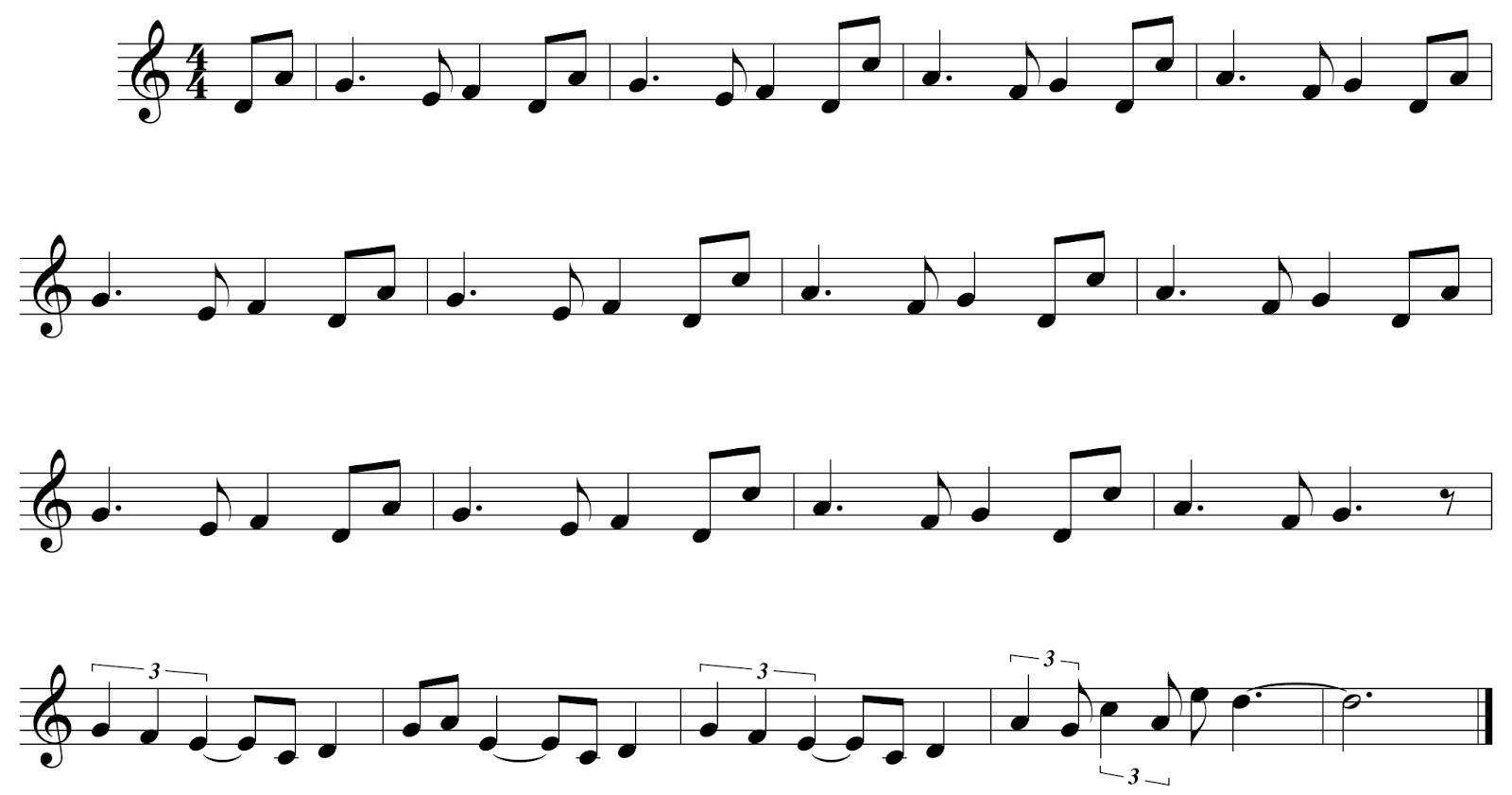 Музыкальная криптография - 1