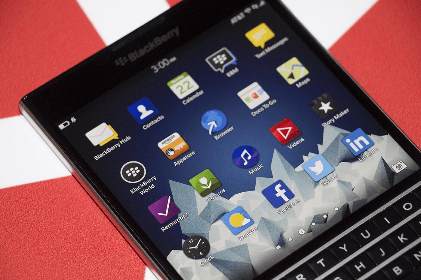 Почему я до сих пор пользуюсь BlackBerry Passport в 2021 - 7