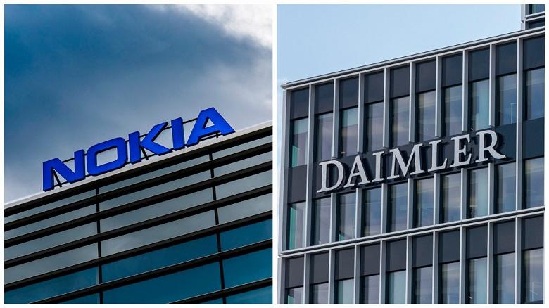 Daimler и Nokia подписали лицензионное соглашение