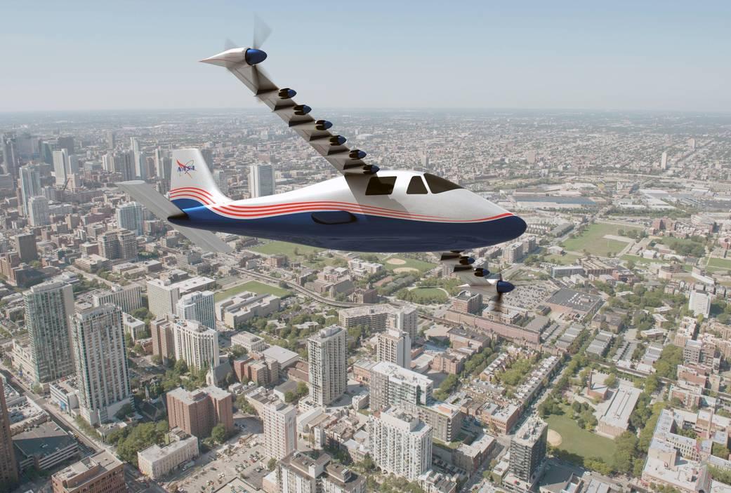 X-57 Maxwell от NASA: первый «боевой» полет электросамолета запланирован на конец года - 1