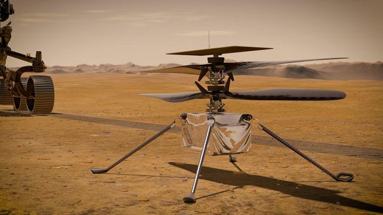 Первый марсианский вертолёт Ingenuity снова готовится в полёт