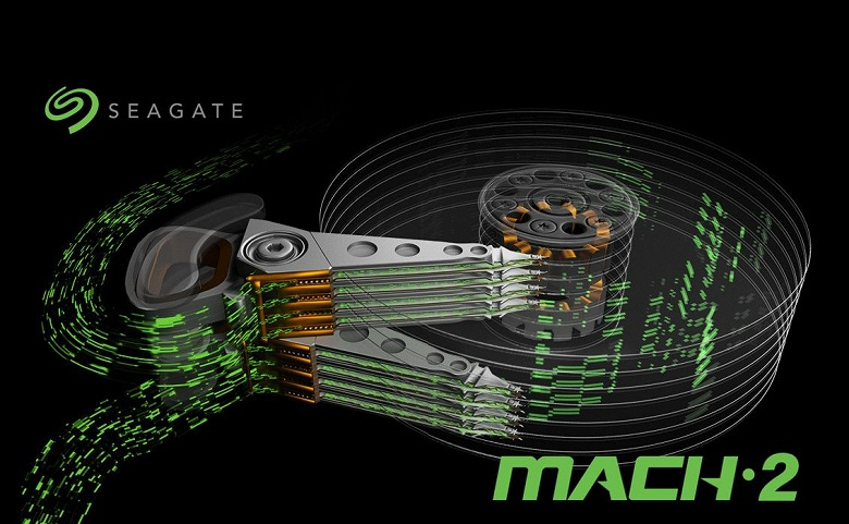 Уникальные сдвоенные жёсткие диски Seagate Mach.2 оказались дешевле обычных в производстве