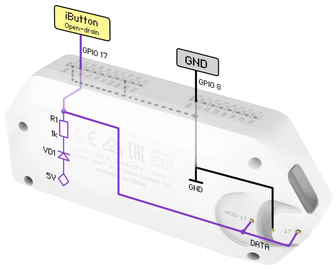 Нахлобучиваем домофонные ключи iButton с помощью Flipper Zero - 5