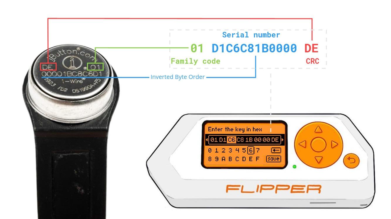 Нахлобучиваем домофонные ключи iButton с помощью Flipper Zero - 9