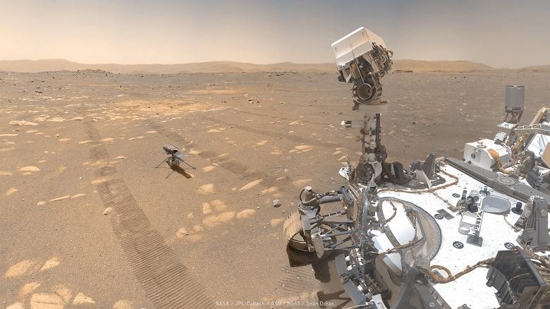 В поисках жизни на Марсе: марсоход Perseverance начал свою научную деятельность на Красной планете