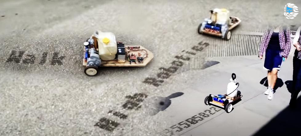 StreetWriter: собираем устройство для печати водой по асфальту - 1