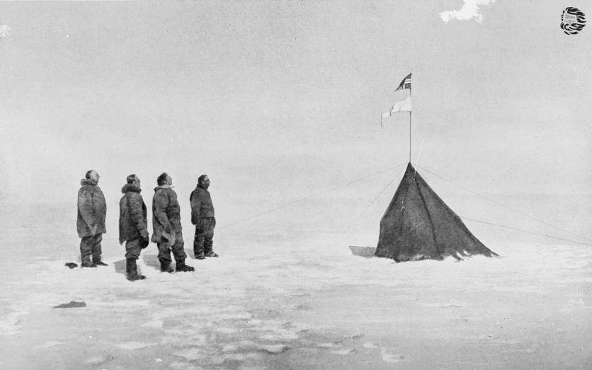Почему Скотт пришёл к Южному Полюсу вторым, а Амундсен предпоследним - 1
