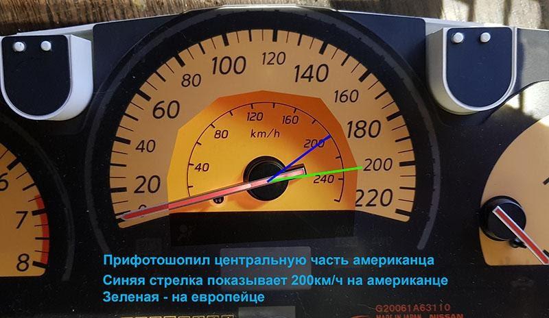 Реверс инжиниринг приборной панели Nissan Murano Z50 - 2